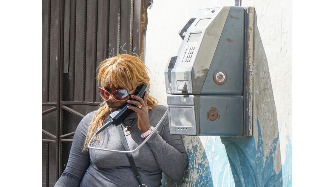 Cuba La Havane Coup de fil au Cayo Hueso 1