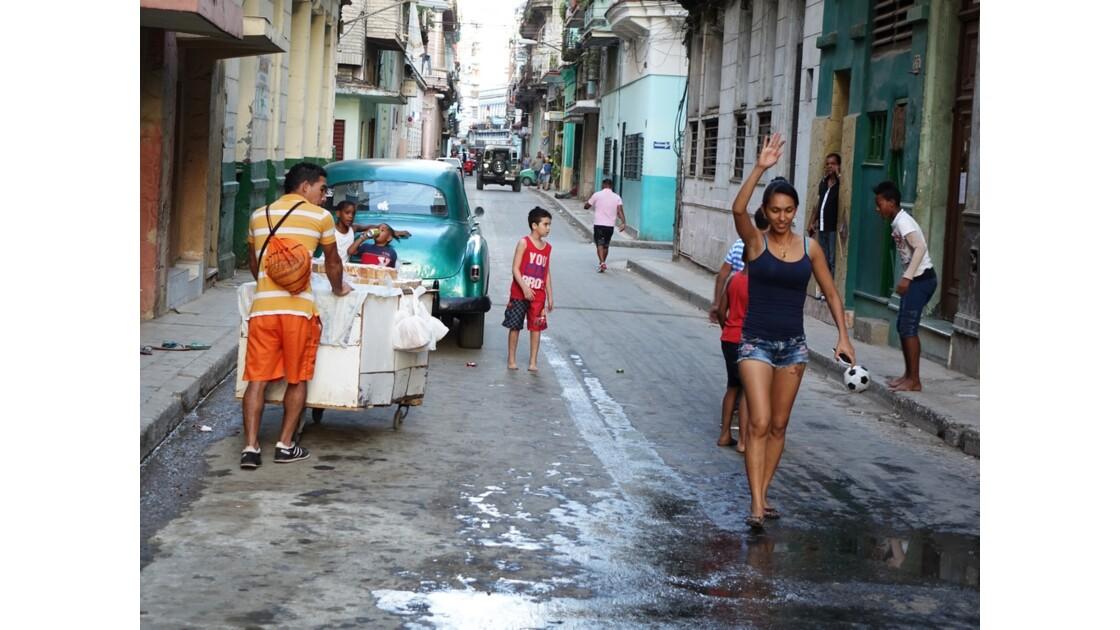 Cuba La Havane Cayo Hueso Calle San Rafael 1