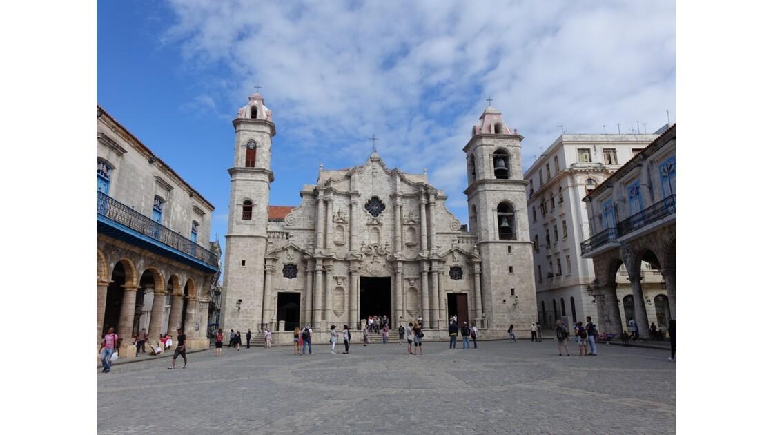 Cuba La Havane Plaza de la Cathedral 1