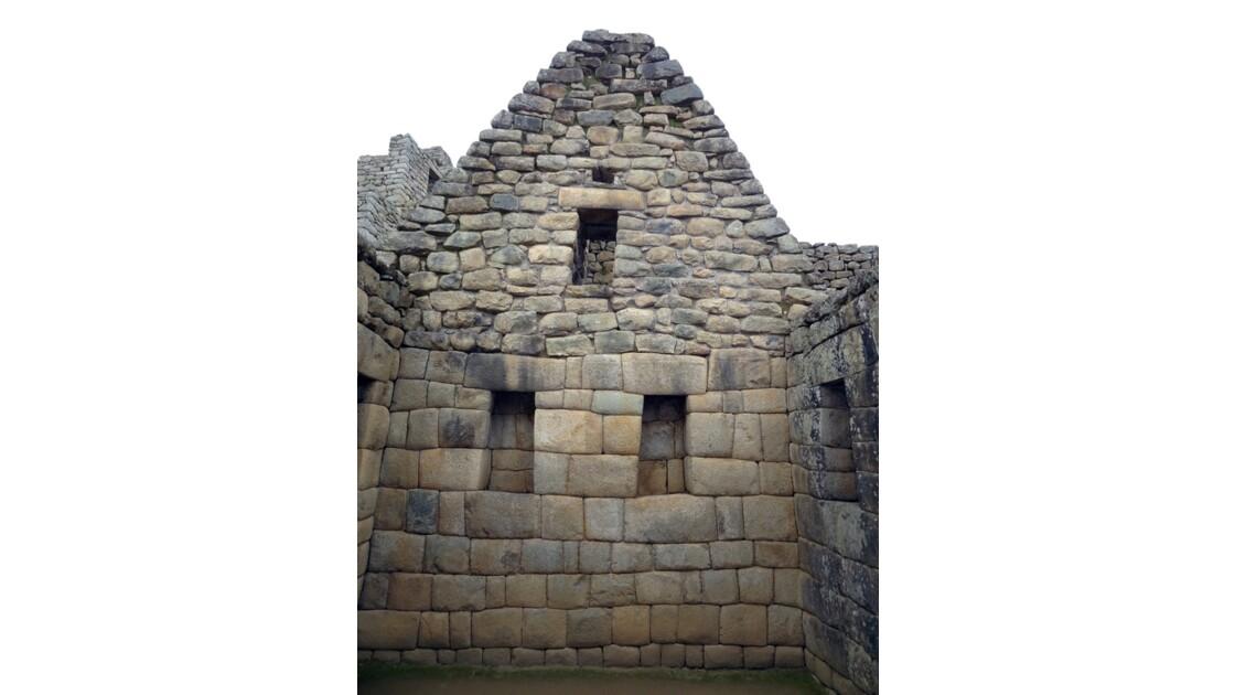 Pérou Machu Picchu Maison de l'Inca