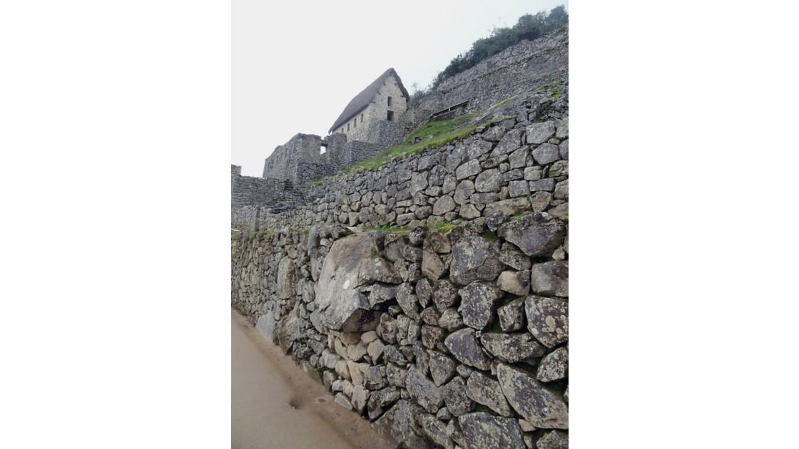 Pérou Machu Picchu Maison des terrasses