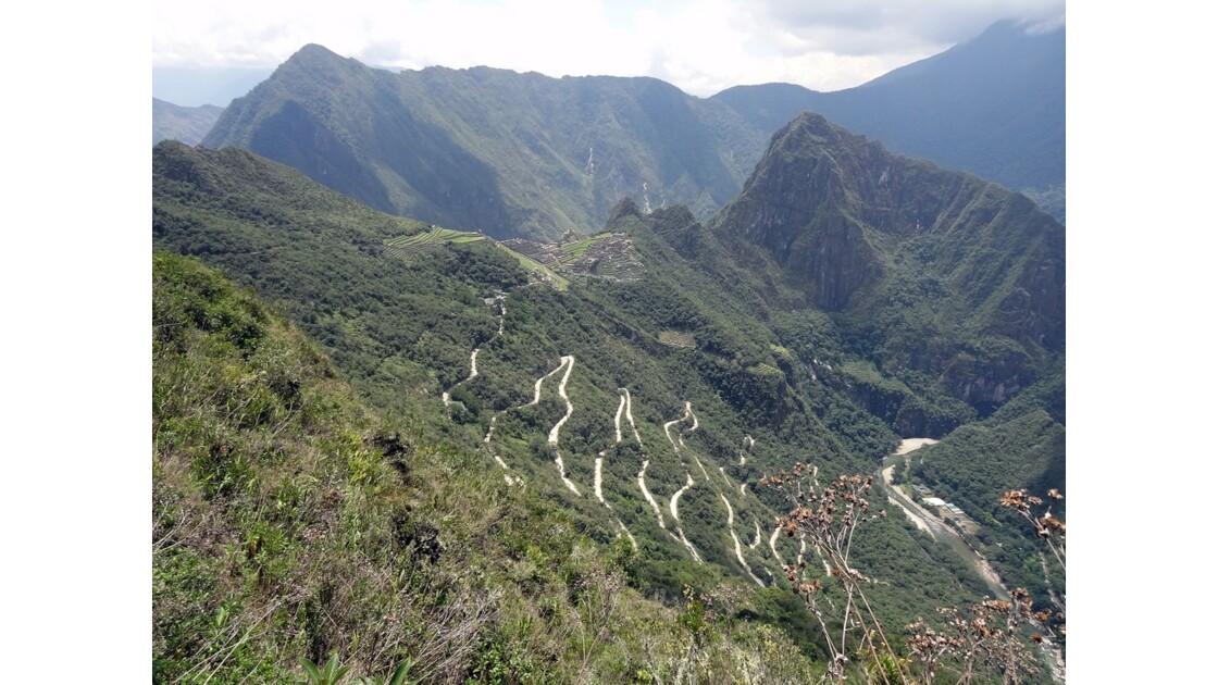 Pérou Machu Picchu vu de la porte du soleil 3