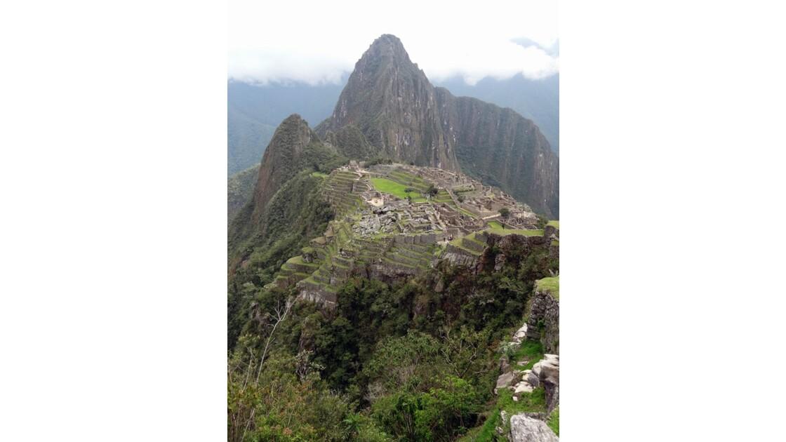 Pérou Machu Picchu vu de la porte du soleil 4