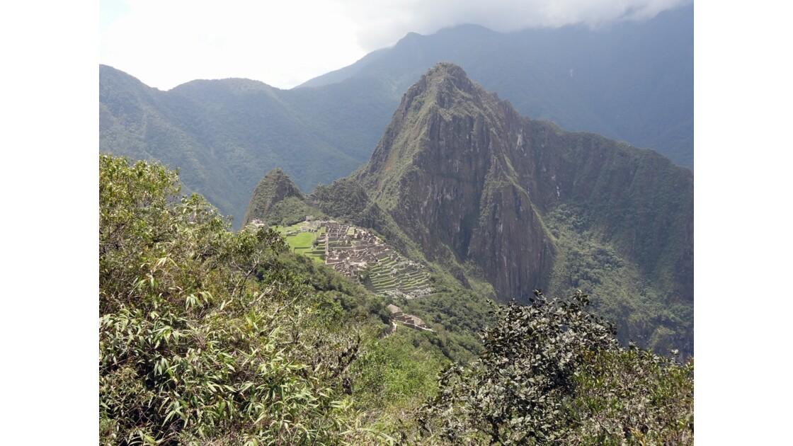 Pérou Machu Picchu vu du chemin de l'Inca 1
