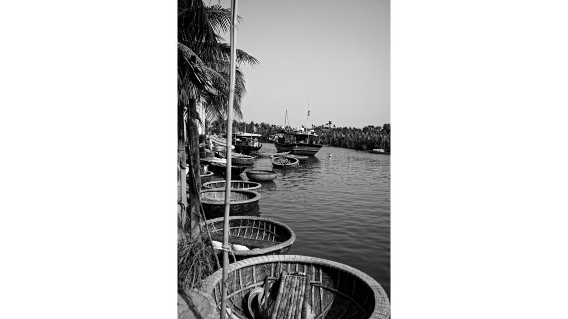 Hoi An - La rivière Thu Bồn