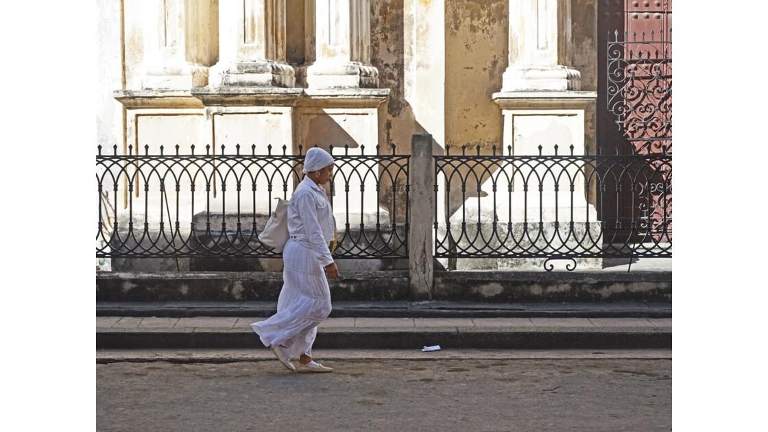 Cuba La Havane Iglesia de la Merced adeptes de la Santeria 5