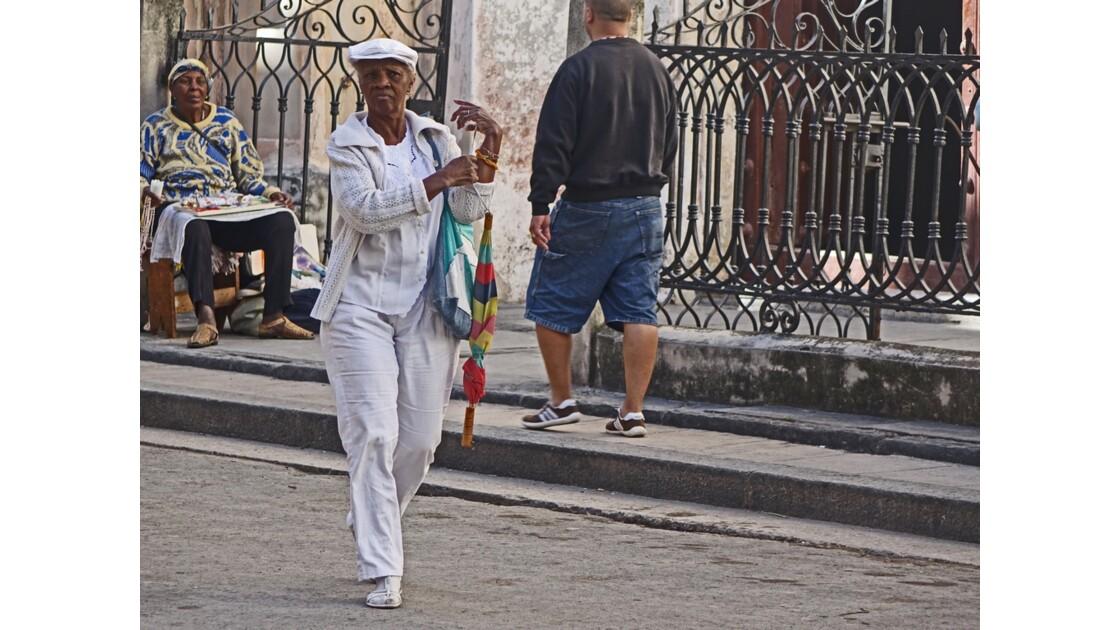 Cuba La Havane Iglesia de la Merced adepte de la Santeria 2