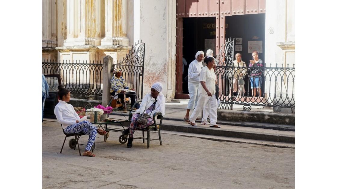 Cuba La Havane Iglesia de la Merced adeptes de la Santeria 4