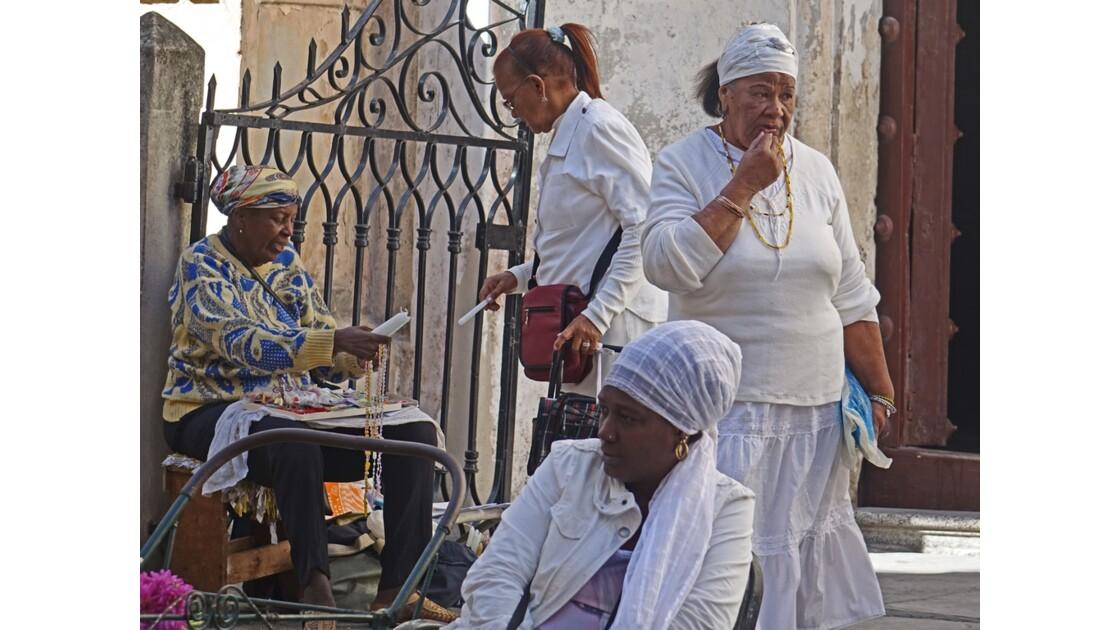 Cuba La Havane Iglesia de la Merced adeptes de la Santeria 6