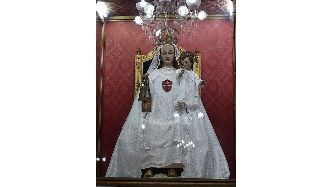 Cuba La Havane Iglesia de la Merced Sanctuaire de la Vierge Marie et Jésus