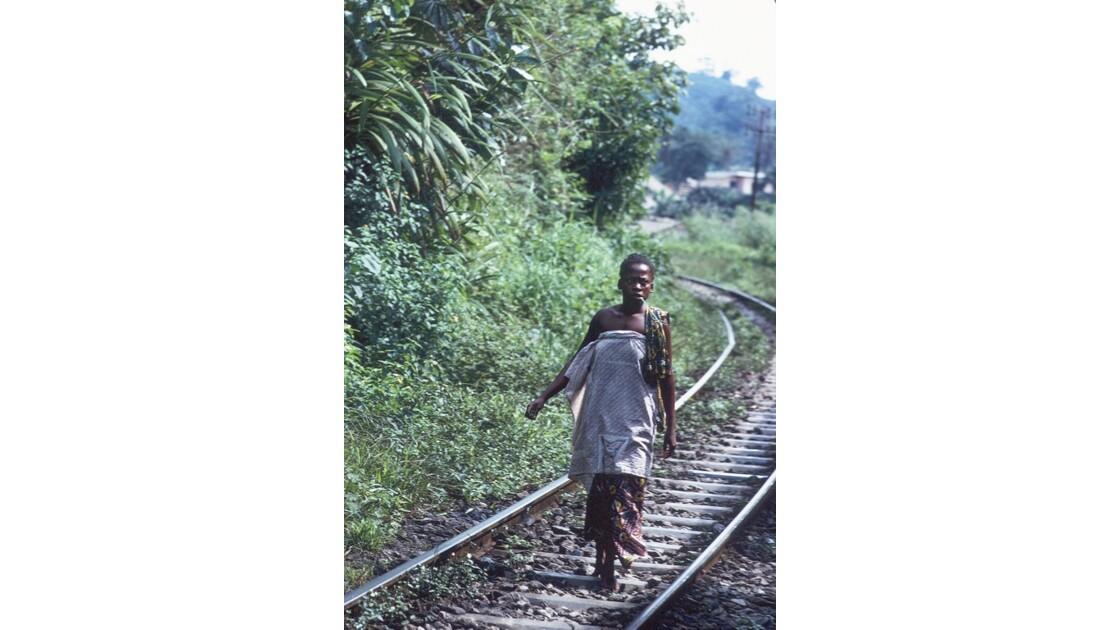 Congo 70 CFCO Sur la voie