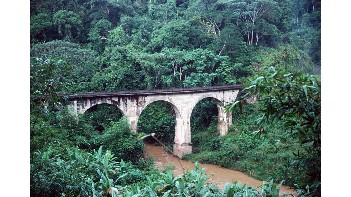 Congo 70 CFCO Viaduc dans le Mayombe 1