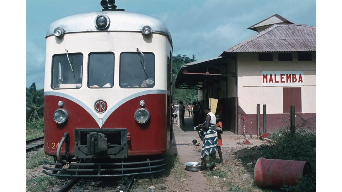 Congo 70 CFCO Gare de Malemba