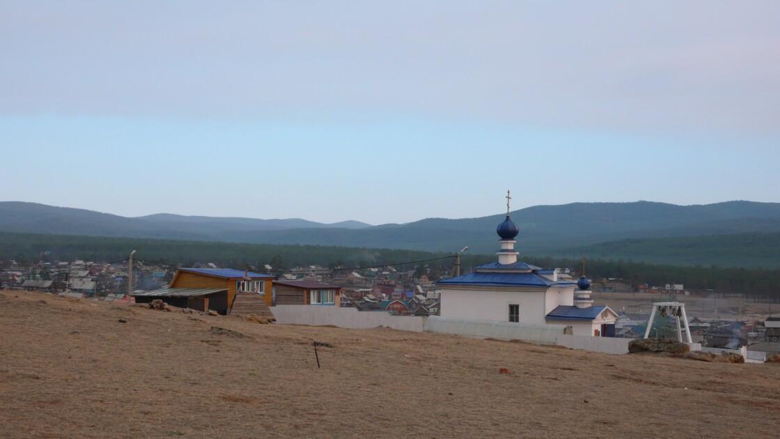 Village de l'île d'Olkhon
