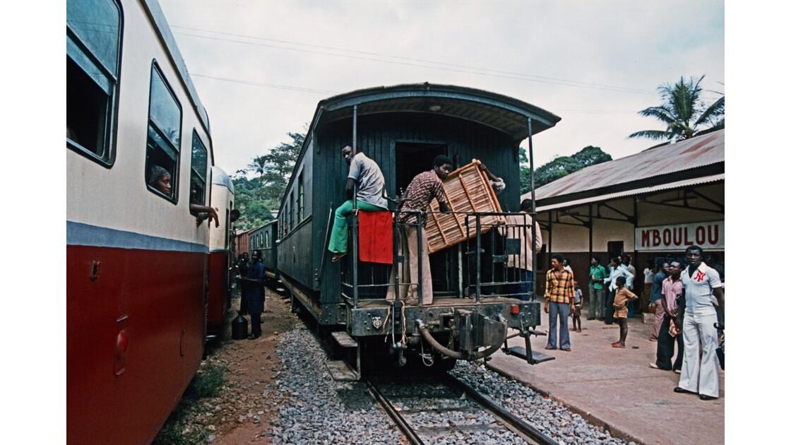 Congo 70 CFCO Gare de Mboulou 1