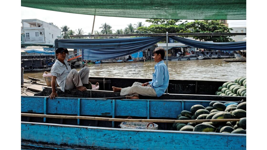 Cần Thơ - Le marché flottant de Cai Rang