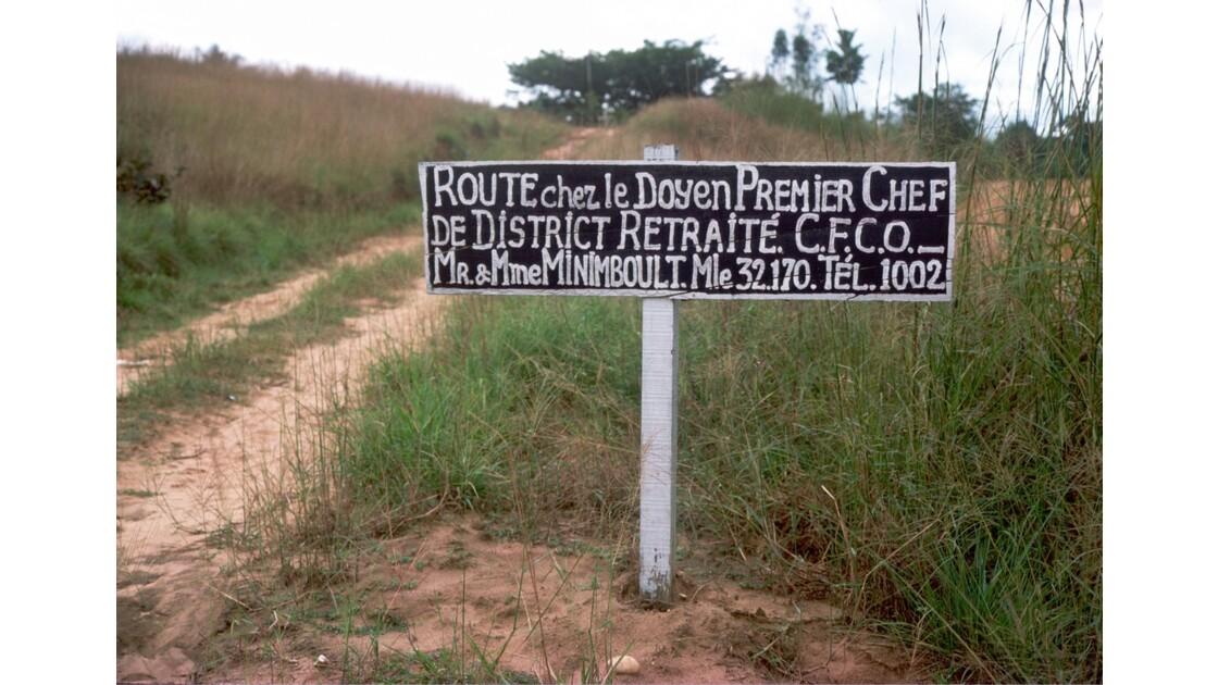 Congo 70 CFCO Près de Holle