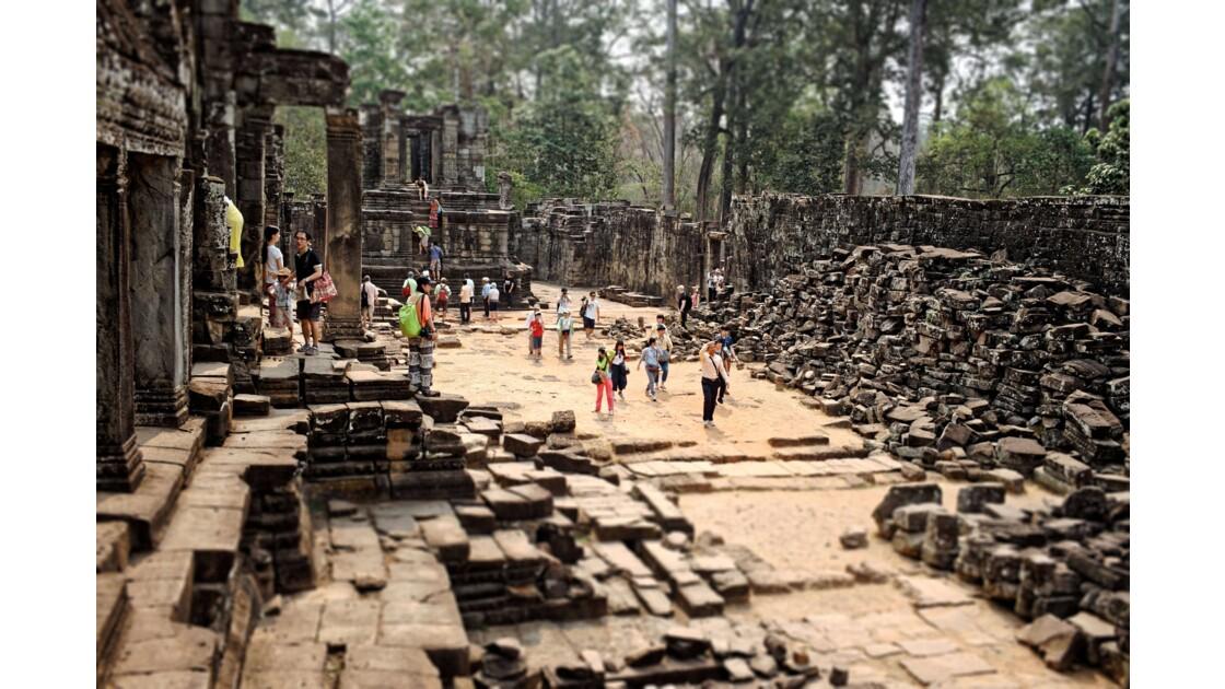 Temple d'Angkor - Le Bayon