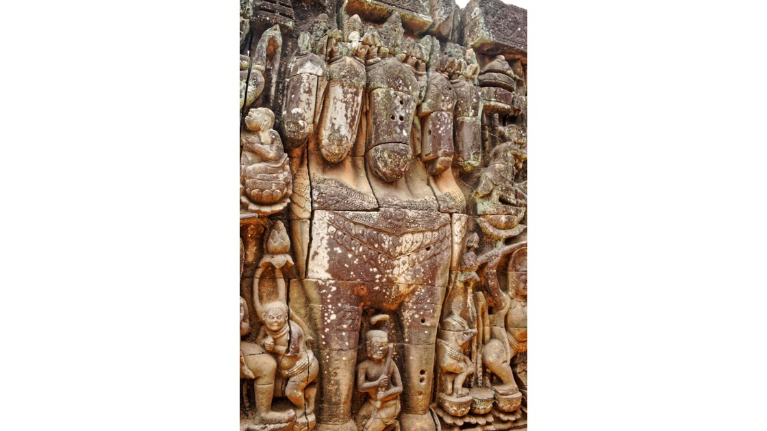 Temple d'Angkor - La Terrasse des éléphants