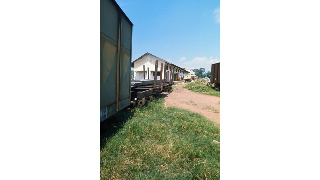 Congo 70 CFCO Gare Petite vitesse de Brazzaville 2