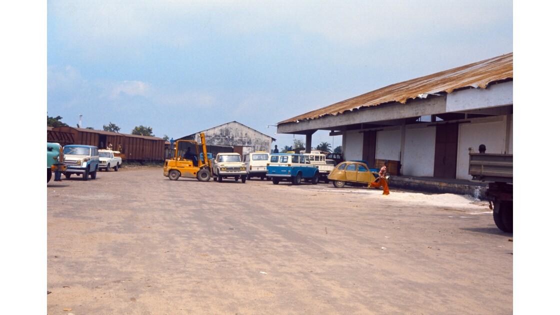 Congo 70 CFCO Gare Petite vitesse de Brazzaville 4