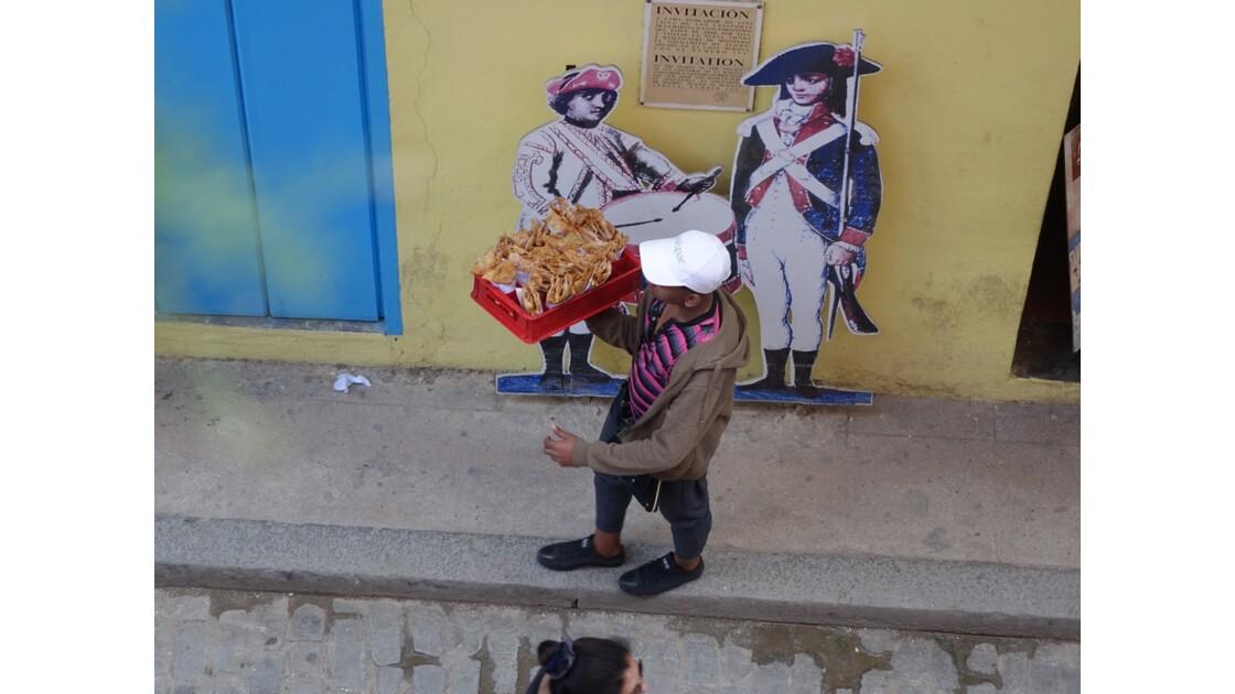 Cuba La Havane Calle Mercaderes vue d'Ambos Mundos