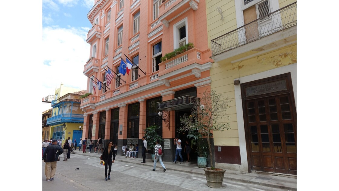 Cuba La Havane Hôtel Ambos Mundo 1