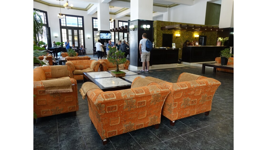 Cuba La Havane Hôtel Ambos Mundo 2