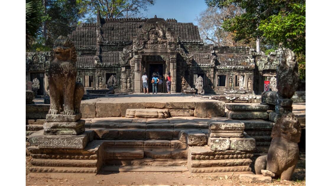 Un temple à Angkor