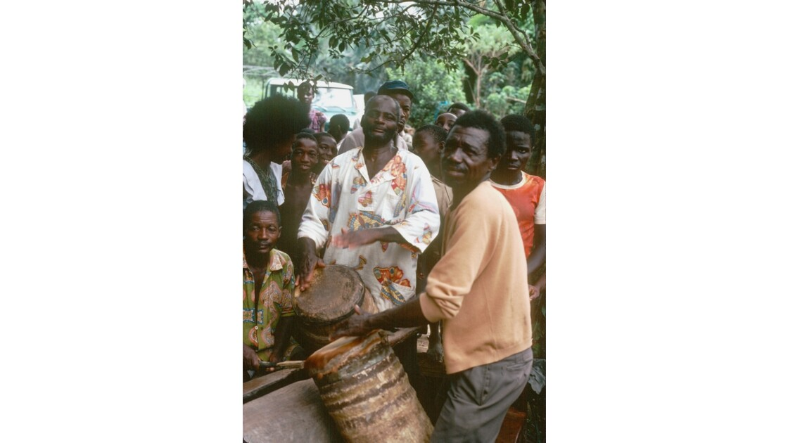 Congo 70 Impfondo fête au vin de palme 11