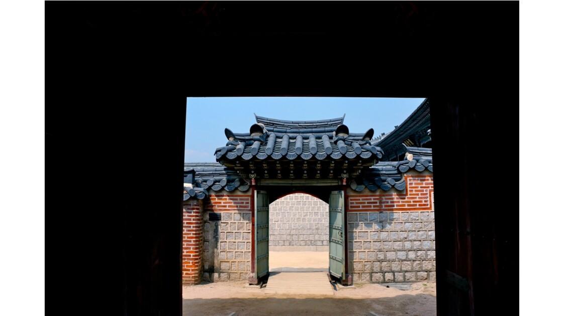 Le palais de Gyeongbokgung ou palais de Gyeongbok