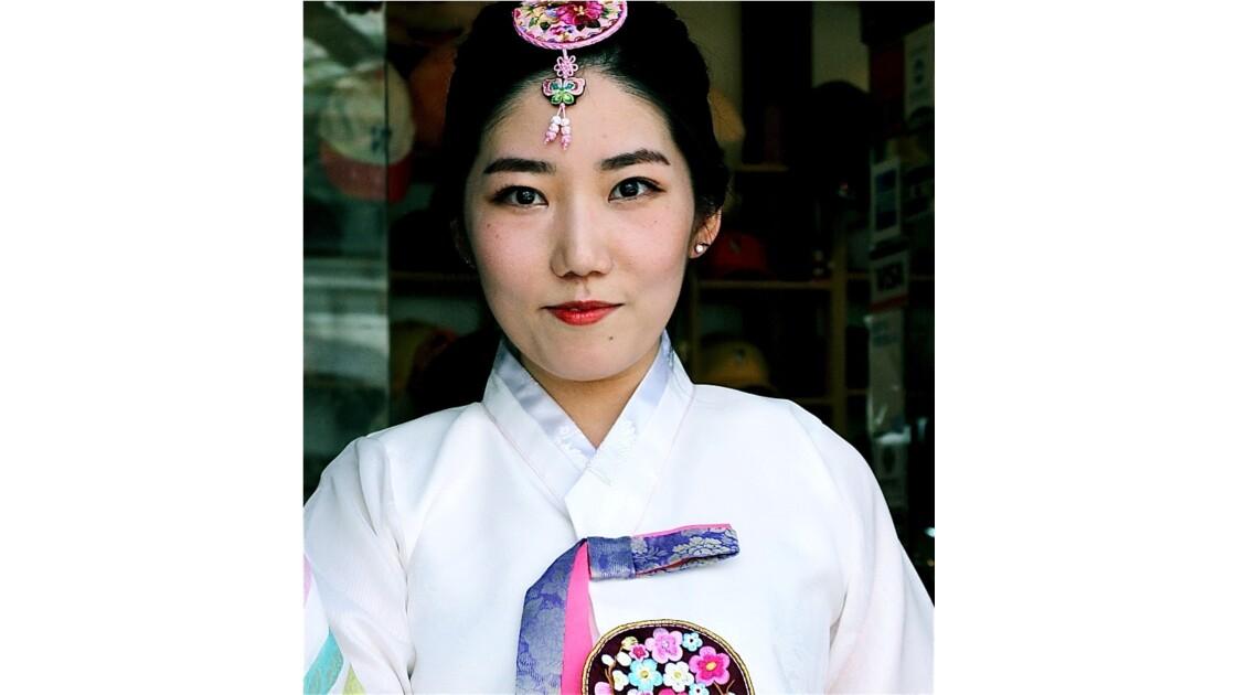 Jeune fille coreenne