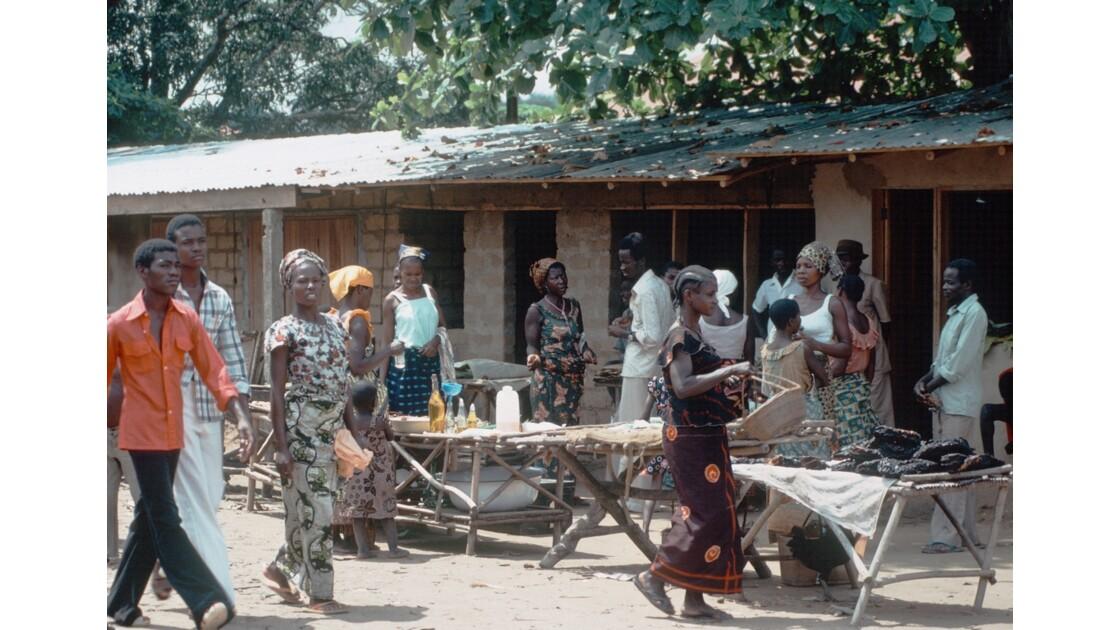 Congo 70 Le marché d'Impfondo 4