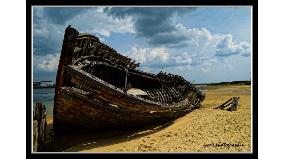 cimetière à bateau