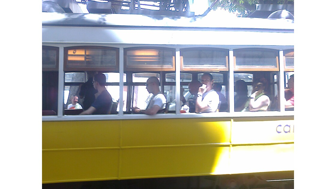 Tramway portugais