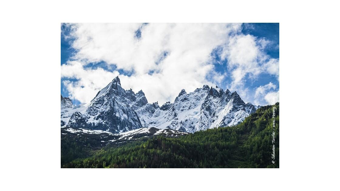 Aiguille de Blaitière Chamonix