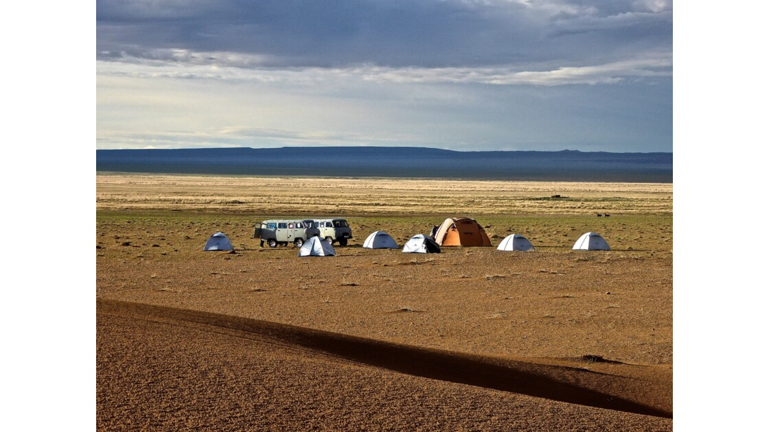 Ici pas de barrières, pas de propriétés privées, on a la liberté de dormir où l'on veut .....