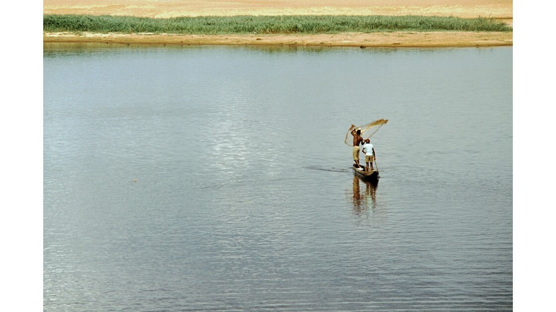 Congo 70 Impfondo pêche à l'épervier 4
