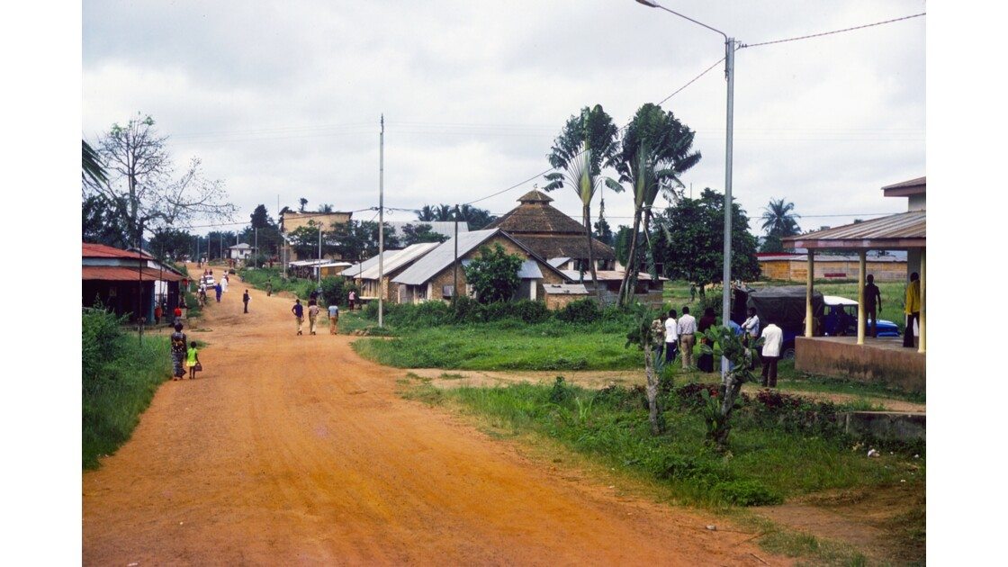 Congo 70 Ouesso Le centre