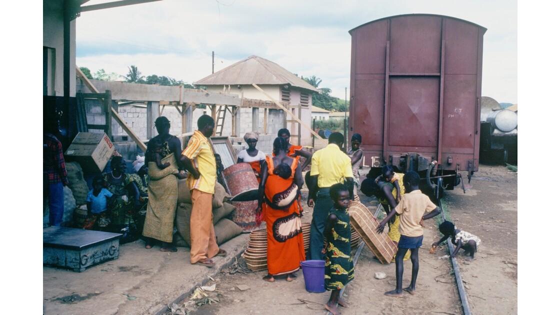 Congo 70 CFCO gare de Loutété 1