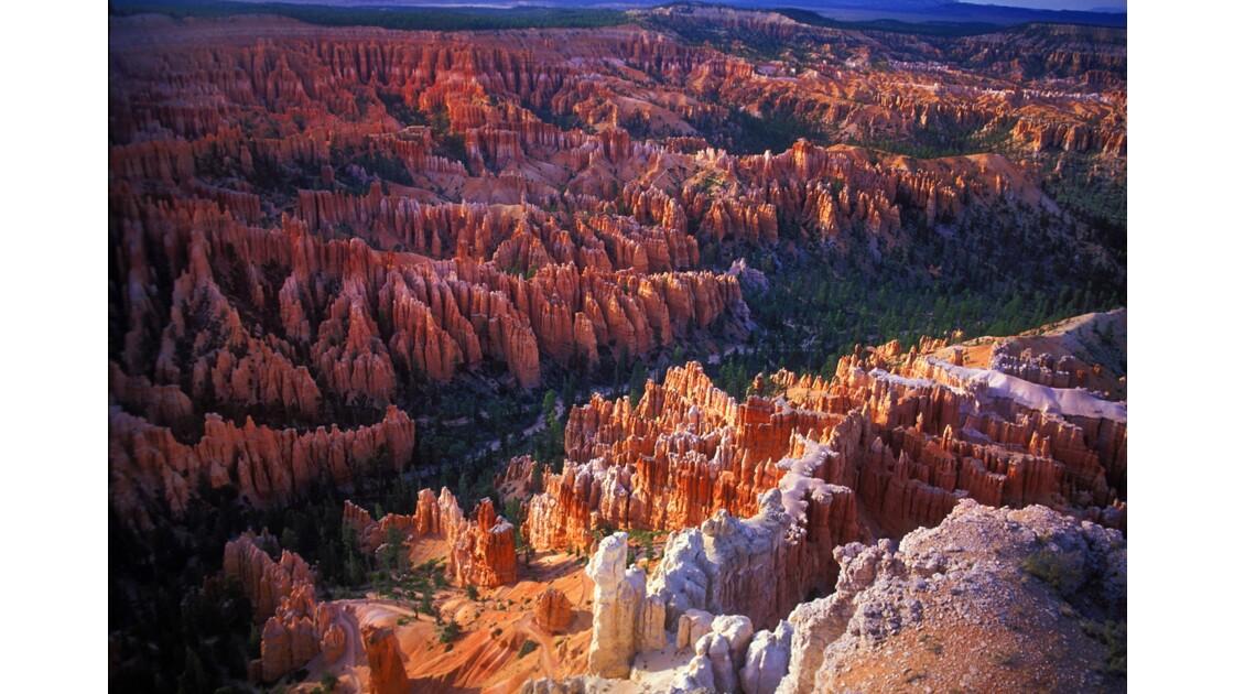 Derniers rayons à Bryce Canyon