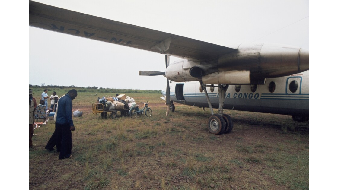 Congo 70 Sangha Escale en brousse