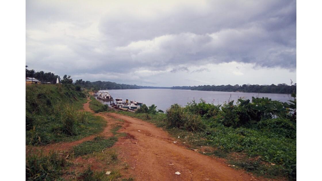 Congo 70 Orage sur Ouesso 2
