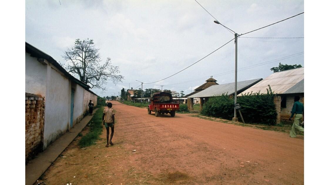 Congo 70 Ouesso Le centre 2
