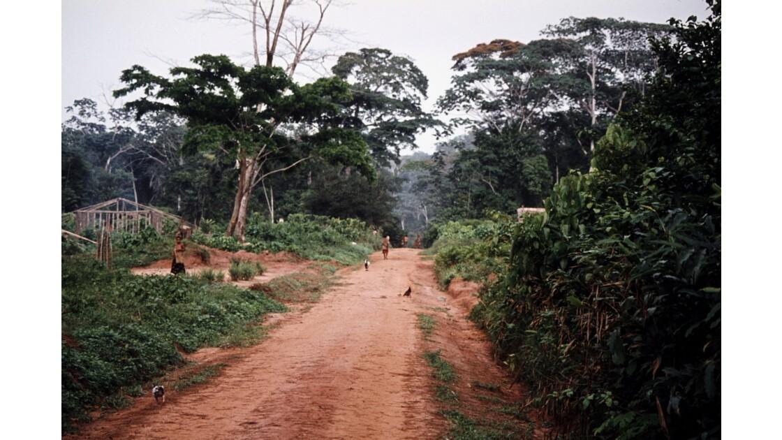 Congo 70 Sangha Village sur la piste entre Ouesso et Souanké 3