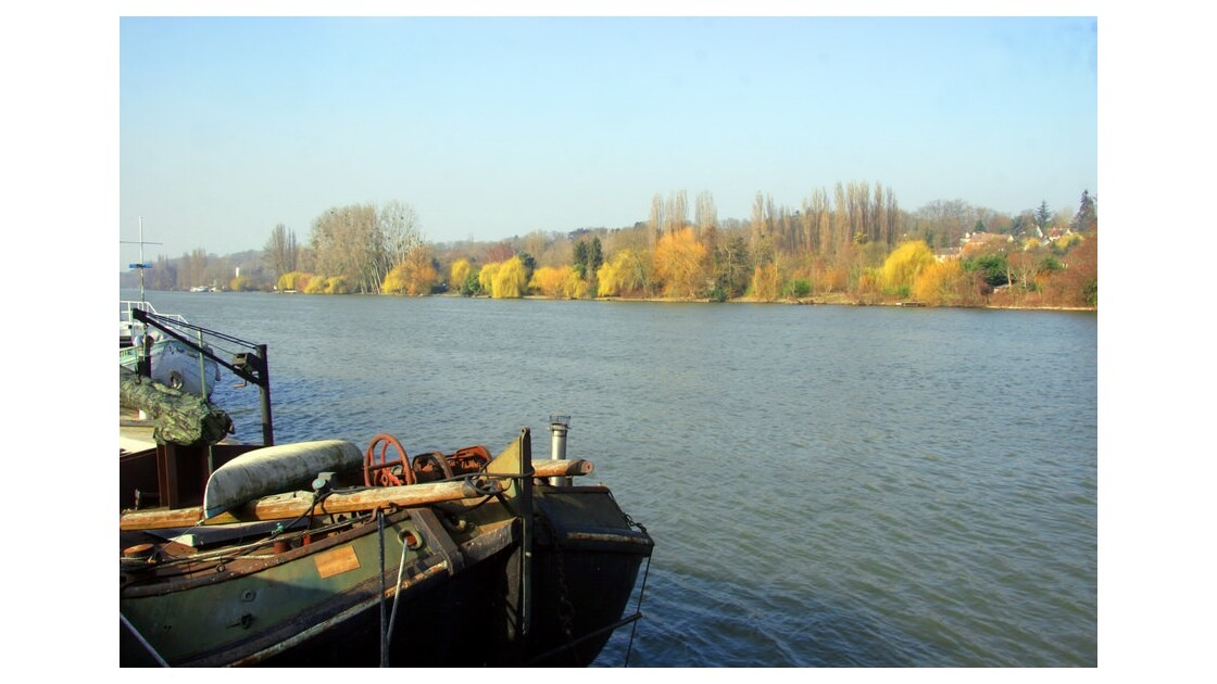 Les bords de Seine en Seine-et-Marne