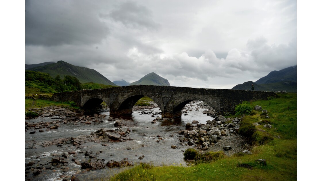 The old bridge of Sligachan