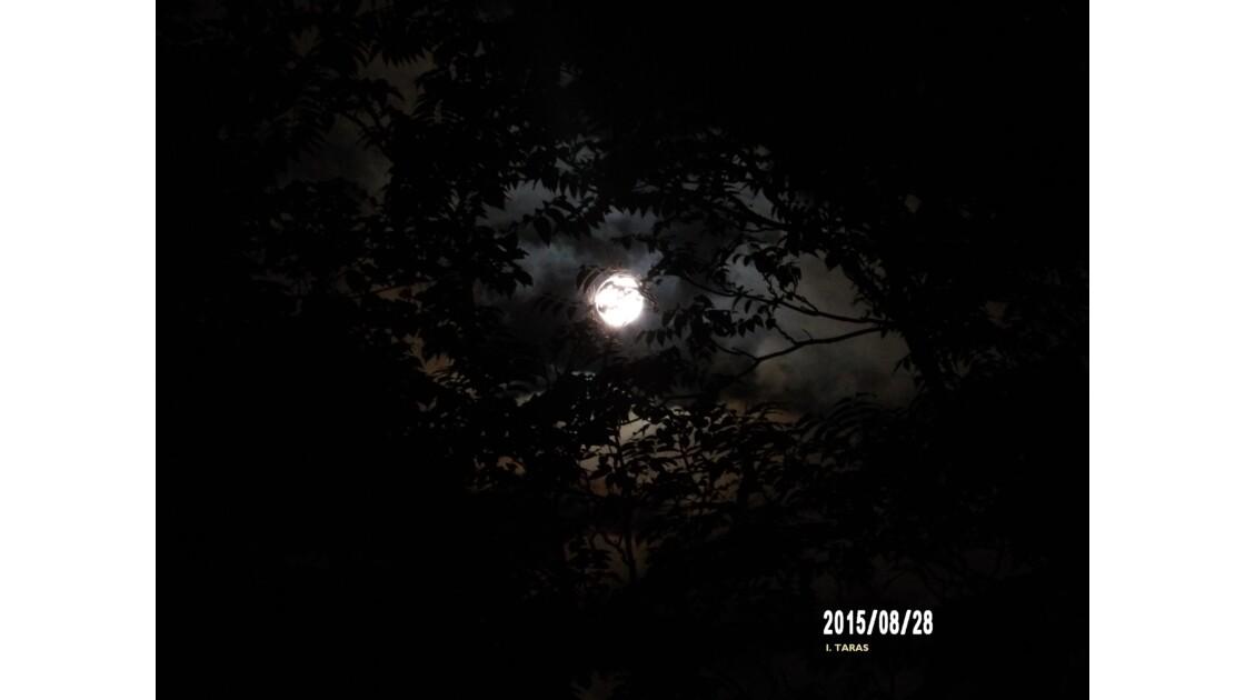 La lune et son aura