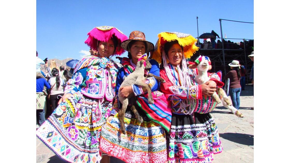Jeunes filles Inti Raymi