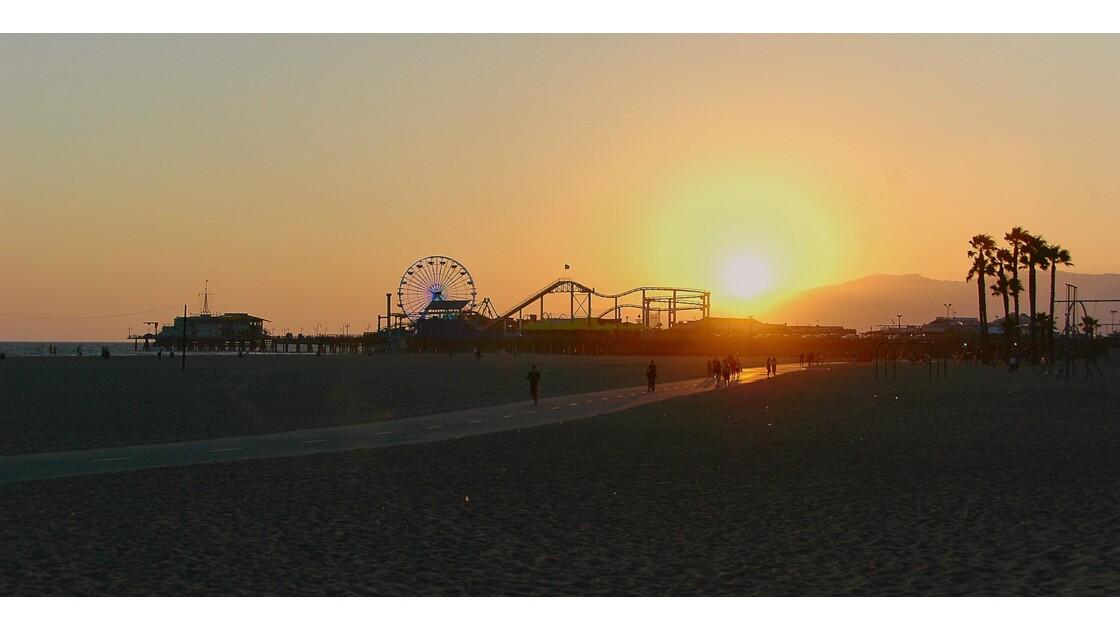 Santa Monica Beach, Californie - Pacific Park